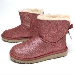 14ca0bb2e77 UGG Mini Bailey BOW SPARKLE Boots MANY SIZES! NIB NWT